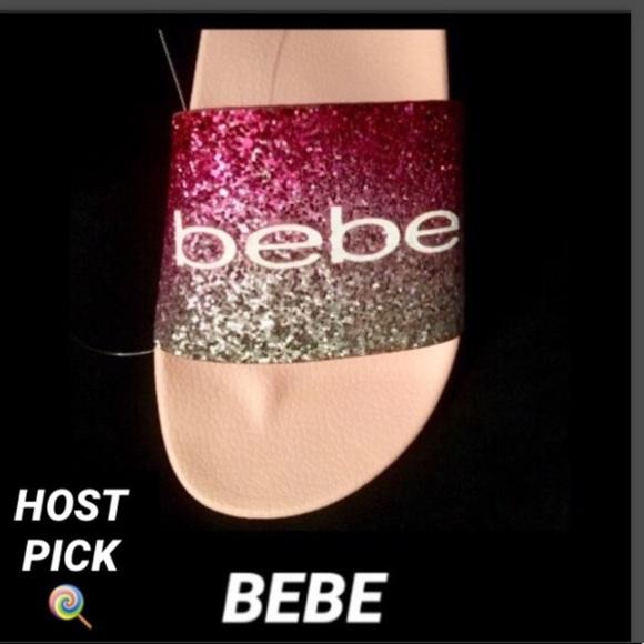 bebe Shoes - 🌹Bebe Fraida Ombre Glitter Slide